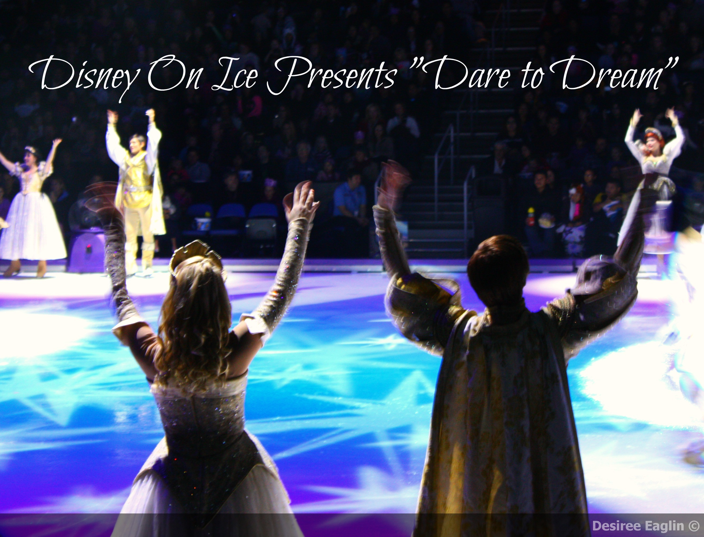 disney on ice, dare to dream, disney, ice skating, ice skating shows, disney shows, disney family shows, family,