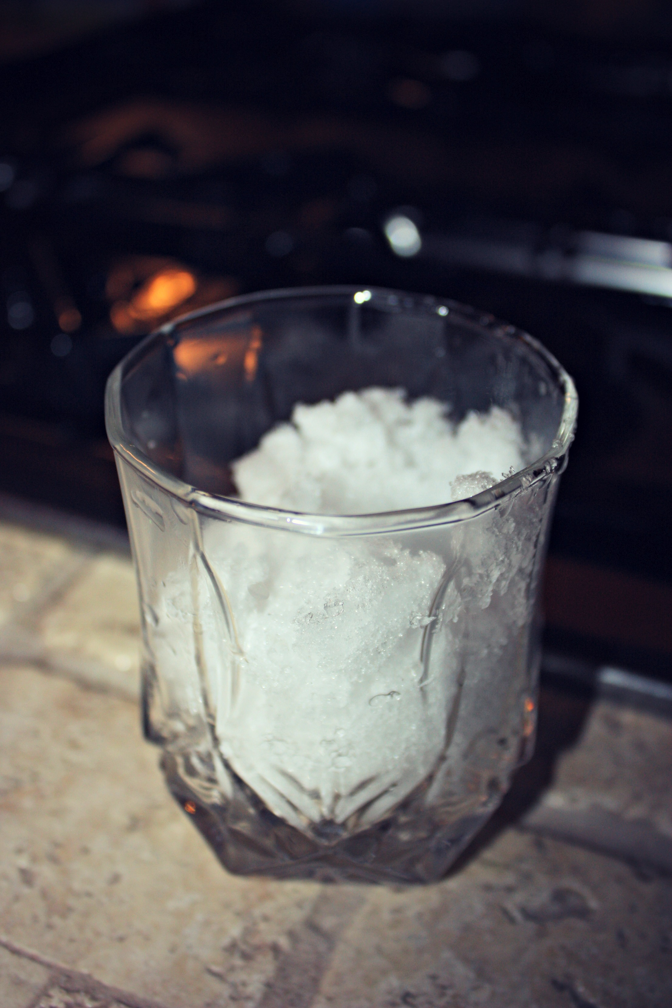 snow glass