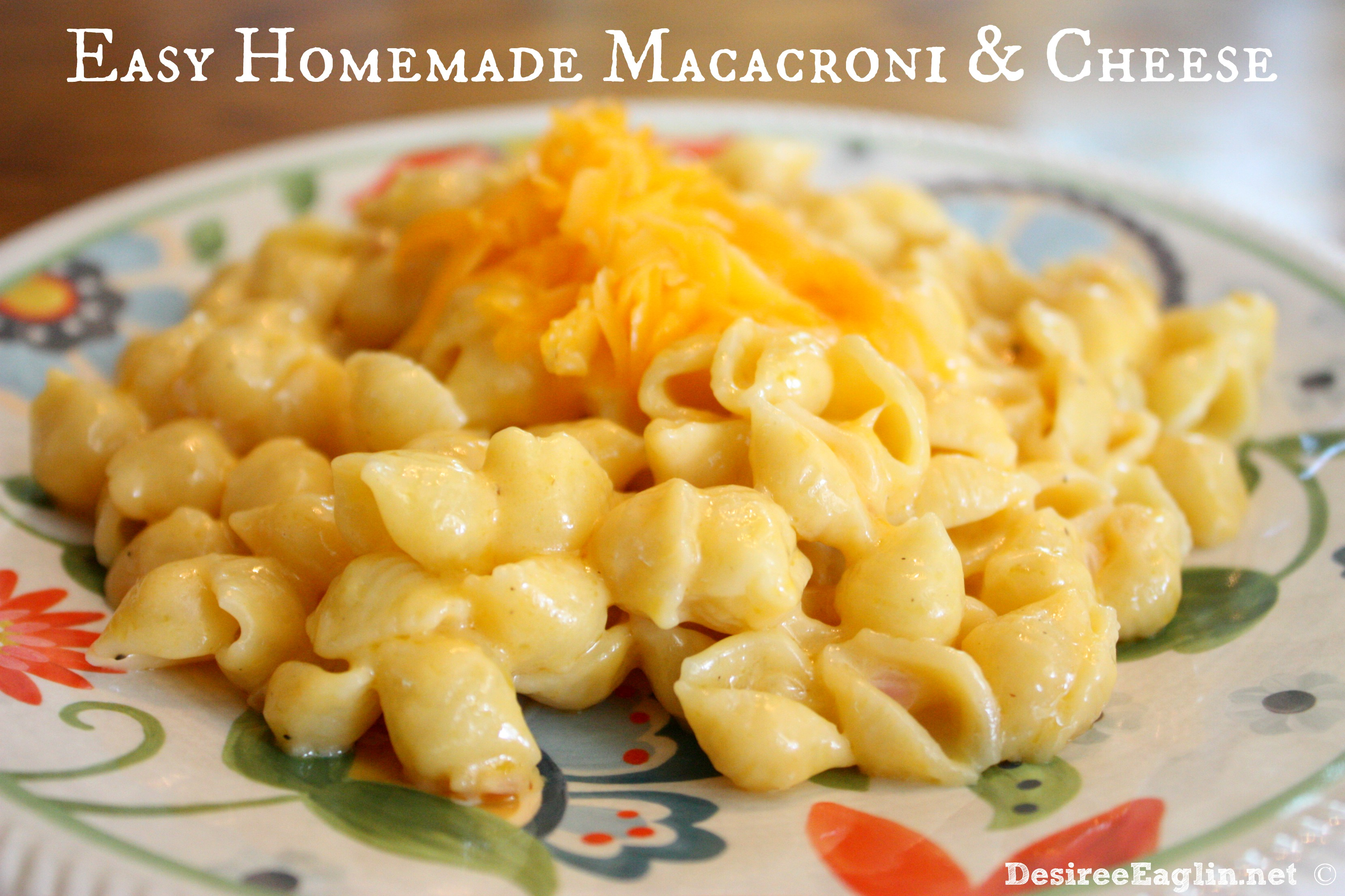 Easy Homemade Macaroni And Cheese Recipes — Dishmaps