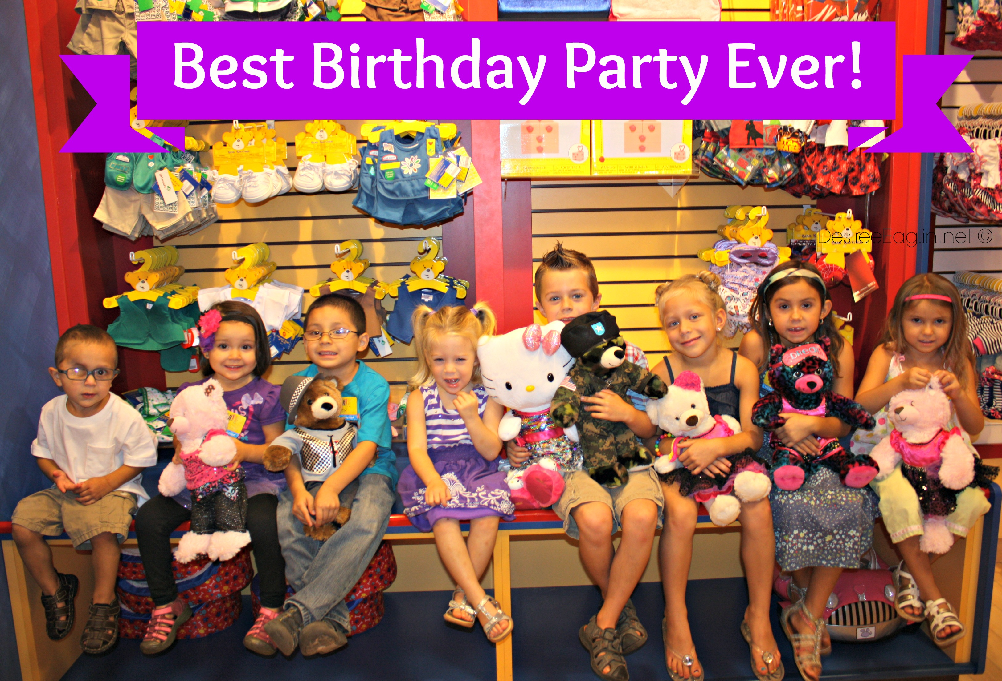 build a bear birthday party