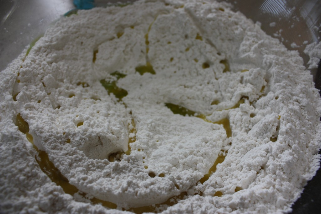 flour mixture for pizza dough