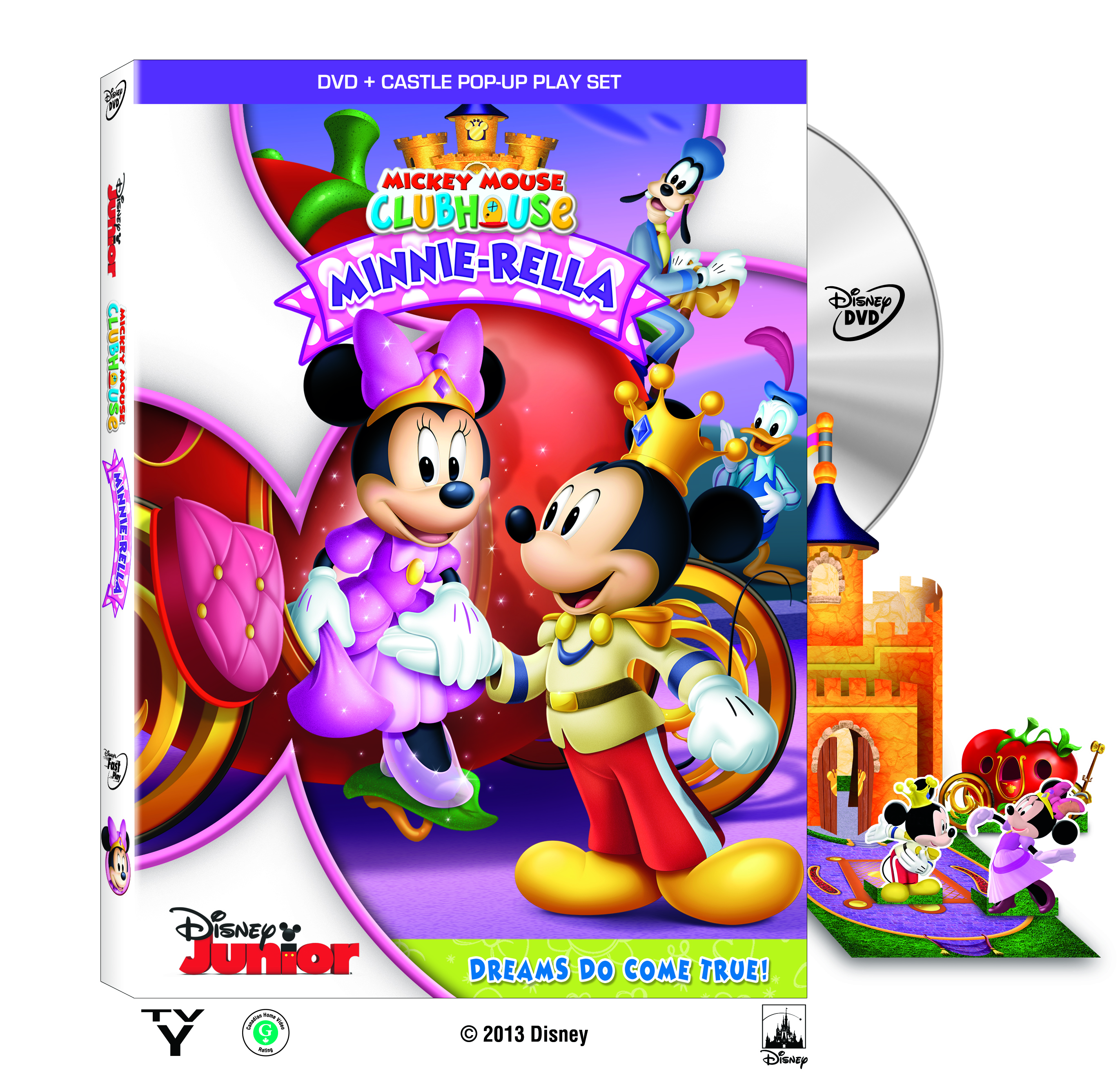 Minnie Rella on DVD