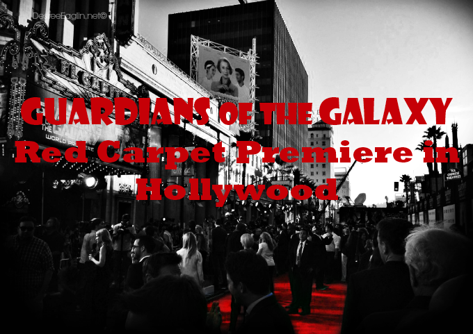 Marvel Guardians of the Galaxy Red Carpet Premiere in Hollywood