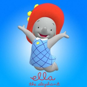 Ella the Elephant and the big red hat