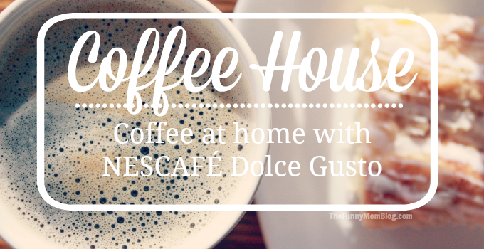 CoffeeHouse Coffee at home with NESCAFÉ Dolce Gusto #LiveWithGusto #MC