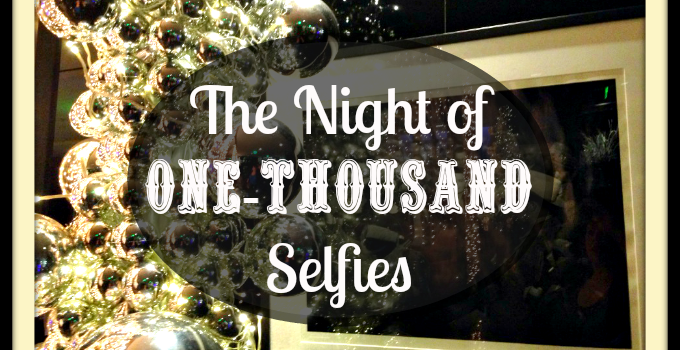 The Night of One-Thousand Selfies #MomsLAHolidays