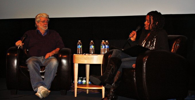 Exclusive George Lucas Interview For Upcoming Animated Film Strange Magic #StrangeMagicEvent