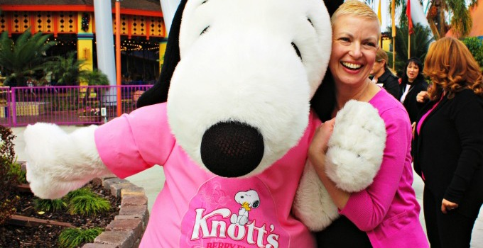 Knott's Berry Farm For The Cure 2015 #KnottsPink