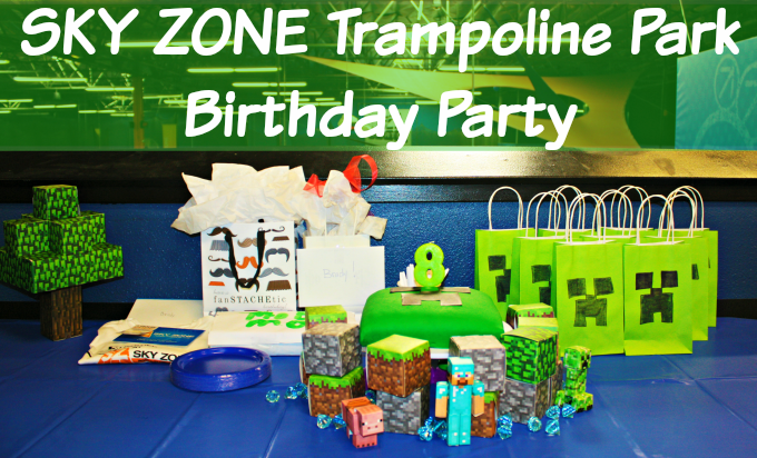 Sky Zone Trampoline Park Birthday Party