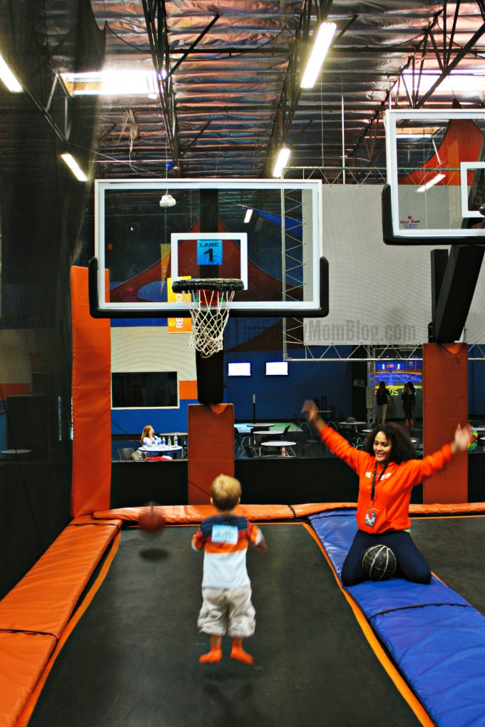 Skyzone Basketball Hoops