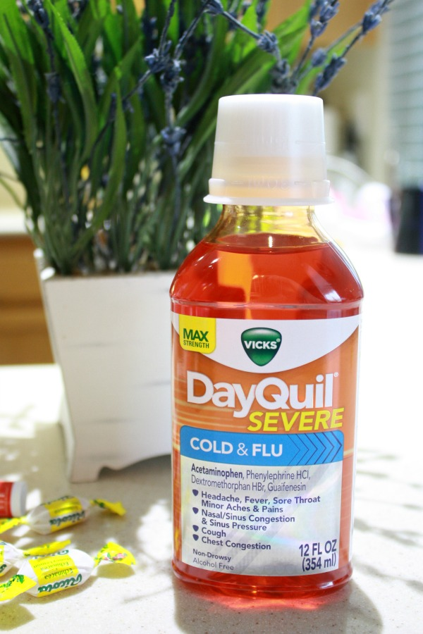 Vicks DayQuil #ReliefisHere