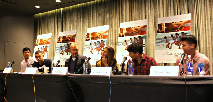 A Serendipitous Affair, The McFARLAND USA Global Press Conference