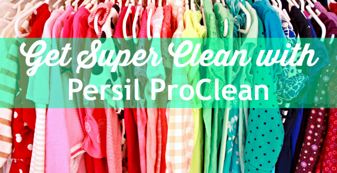 Get Super Clean With Persil ProClean #persilproclean
