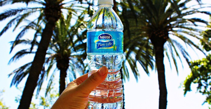 Seizing the pure life with Nestle Pure Life Water