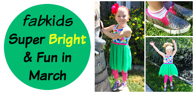 fabkids Super Bright and Fun in March