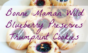 Bonne Maman Wild Blueberry Thumbprint Cookies Recipe