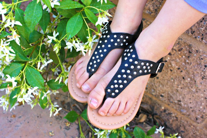 FabKids Fab Studded Sandals