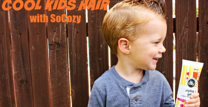 3 Steps To Cool Kids Hair with SoCozy