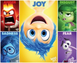 Inside Out Emotion Characters
