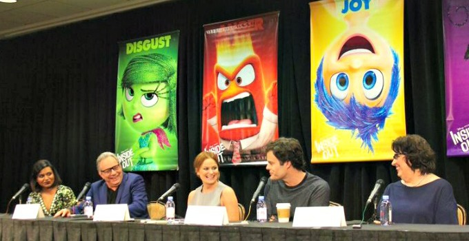 Laughing Along At The Inside Out Press Conference