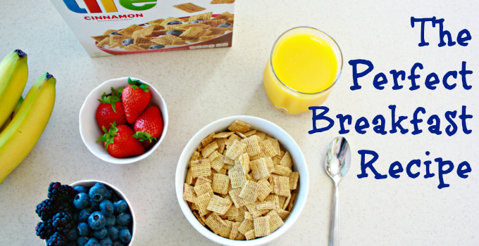 The Perfect Breakfast Recipe with Quaker Life Cereal