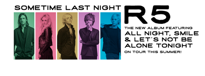 R5 concert tickets giveaway