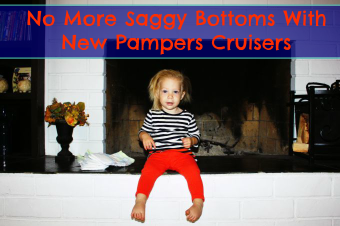 No more saggy bottoms with new pampers cruisers from target
