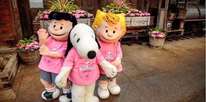 3rd Annual Knotts Berry Farm For The Cure #KnottsPink