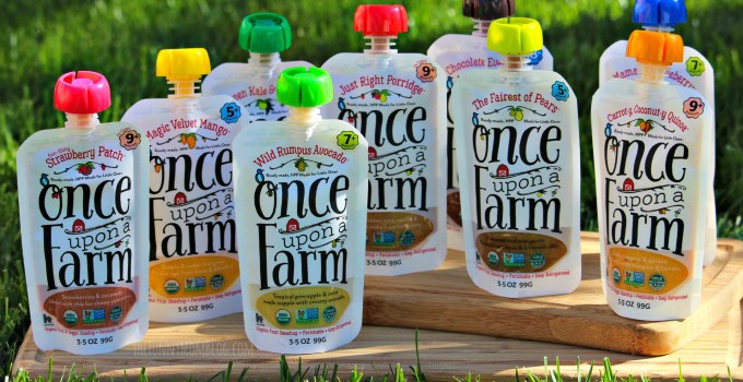 First Meals Matter: Once Upon A Farm Ready Made Meals Review #HealthyEverAfter