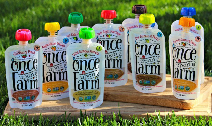 Once upon A Farm Pouch Review - The Funny Mom Blog