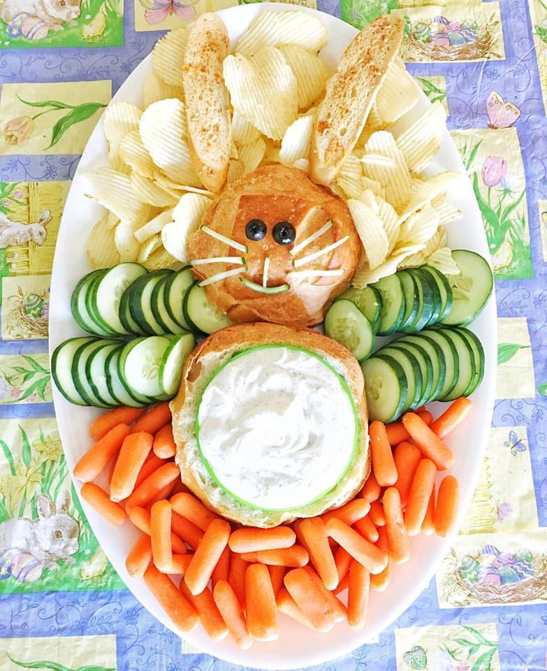 The Cutest Easter Bunny Appetizer!