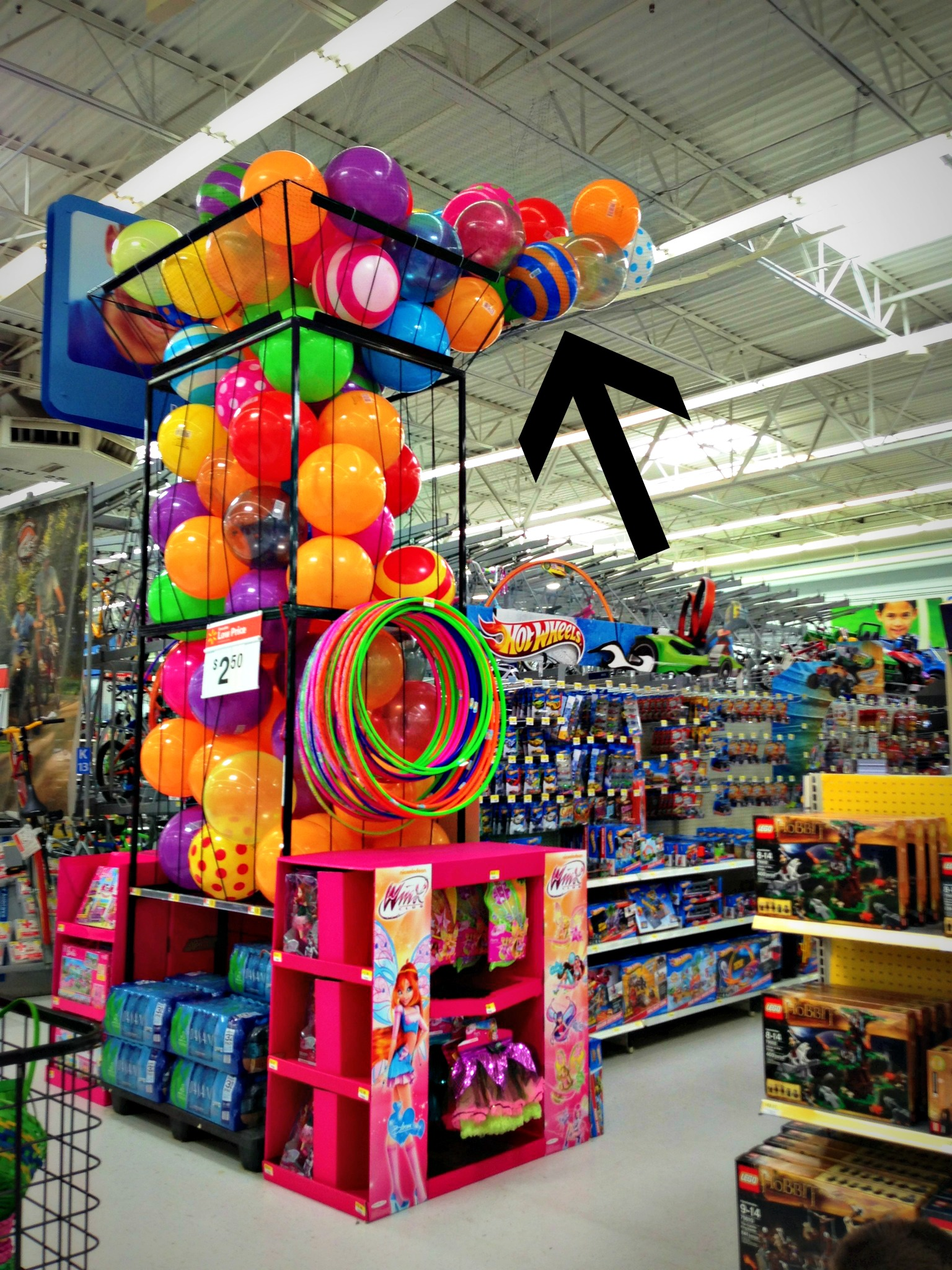 Toys At Walmart : I want that one the funny mom