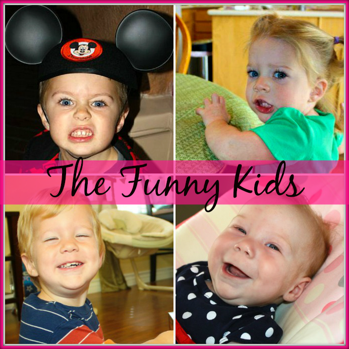 Meet The 4 Funny Kids!