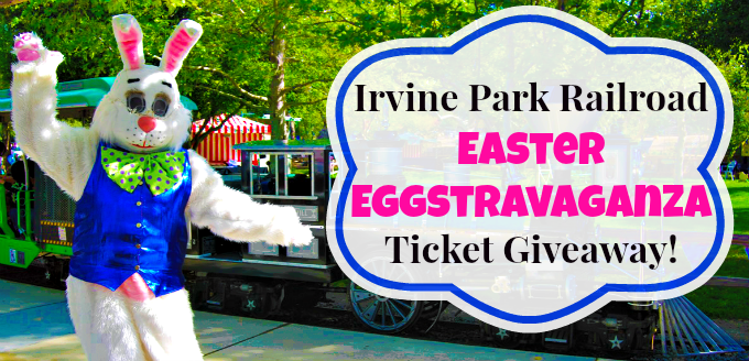 Ride Irvine Park Railroad with the Easter Bunny