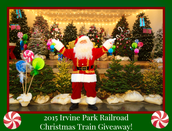2015 Irvine Park Railroad Christmas Train Giveaway! - The Funny ...